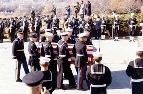 8th & I Reunion Association - Historical Events of the 1970's Harry Truman Funeral 1972